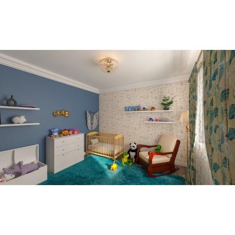 Comoda dormitor Stefan DS14, cu 3 sertare, furnir diverse culori, 90 x 90 x 40 cm, 3C