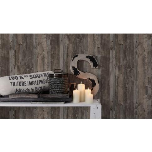 Tapet vlies, model lemn, AS Creation Best of Wood'n Stone 954051, 10 x 0.53 m