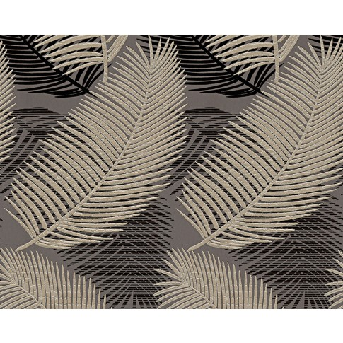 Tapet hartie, model frunze, AS Creation San Francisco 958783, 10 x 0.53 m