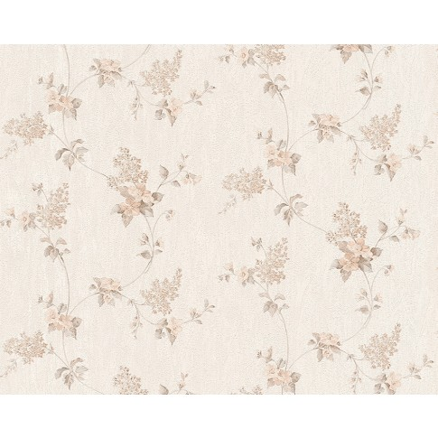 Tapet hartie, model floral, AS Creation Villa Rosso 959282, 10 x 0.53 m