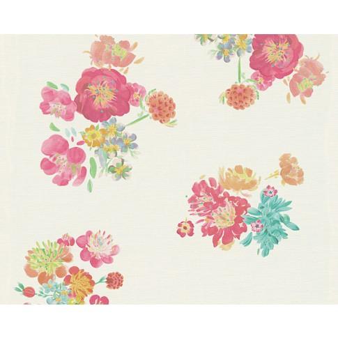 Tapet vlies, model floral, AS Creation Oilily Atelier 302732 10 x 0.53 m