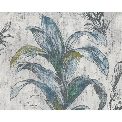 Tapet vlies, model floral, AS Creation Metropolis 2 304561, 10 x 0.53 m