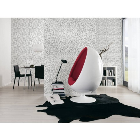 Tapet vlies, model vintage, AS Creation Black & White 944825, 10 x 0.53 m