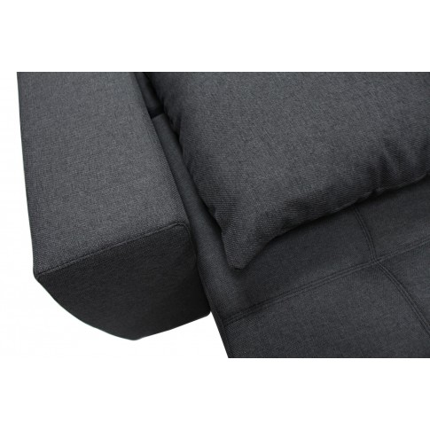 Coltar living extensibil pe stanga MM311 2DL-REC, cu lada, gri inchis, 280 x 204 x 92 cm, 2C