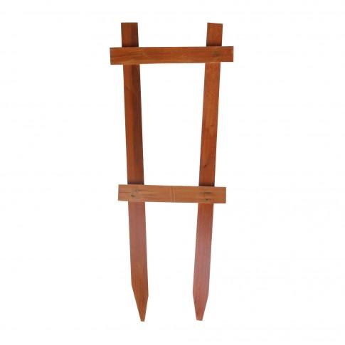 Suport pentru plante, scarita, lemn, H 40 cm