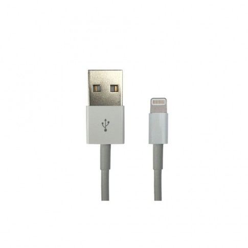 Cablu PNI-L100 lightning la USB 2.0, compatibil iPhone 5 / 5S / 6 / 6S, 1 metru, alb