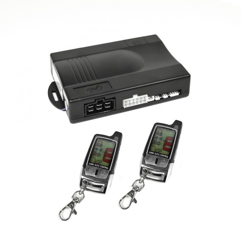 Alarma auto PNI Escort ES360, 2 telecomenzi, functie pornire motor, armare silentioasa, functie localizare vehicul, functie deschidere portbagaj