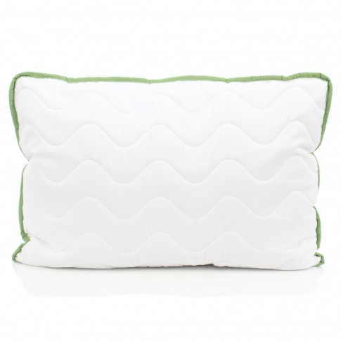 Perna pentru dormit Dormeo Green Tea V2, clasica, microfibre Softdream + microfibre Wellsleep 100% poliester, 50 x 70 cm