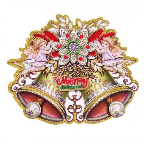 Decoratiune Craciun, sticker, 25 x 30 cm, SY16TH-113