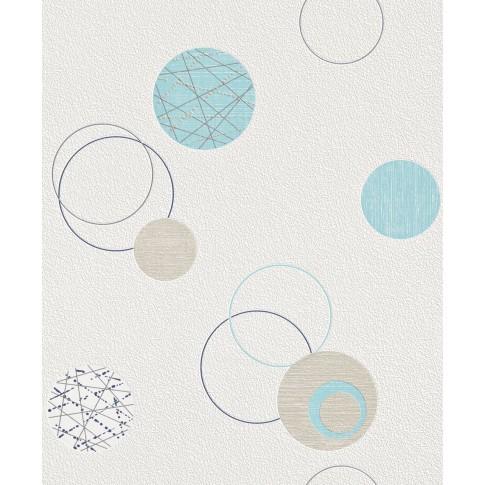 Tapet fibra textila, model geometric, Rasch Best Of 475913, 10 x 0.53 m