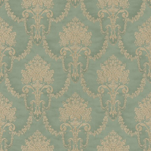 Tapet vinil, model floral, Rasch Trianon 514988 10 x 0.53 m