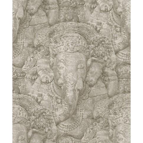 Tapet fibra textila, model piatra, Rasch Crispy Paper 525519, 10 x 0.53 m