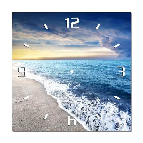 Tablou cu ceas TA14-PAC0128, peisaj, canvas, 40 x 40 cm