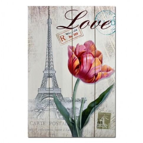 Tablou, Turnul Eiffel, canvas, 50 x 40 cm