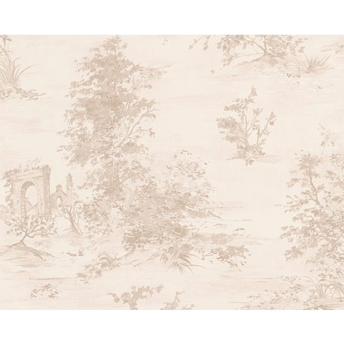 Tapet vlies, model arbori, AS Creation Romantica 3 304291, 10 x 0.53 m