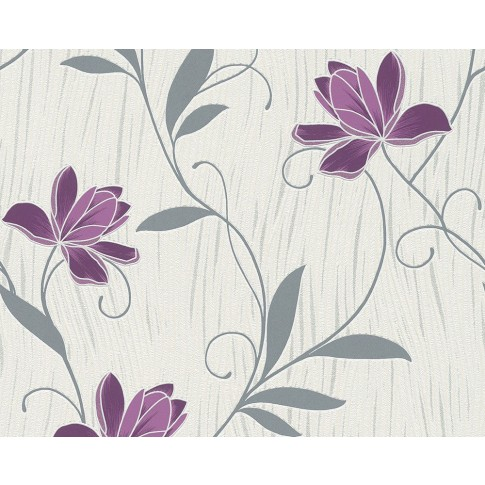 Tapet hartie, model floral, AS Creation Chicago 306234, 10 x 0.53 m
