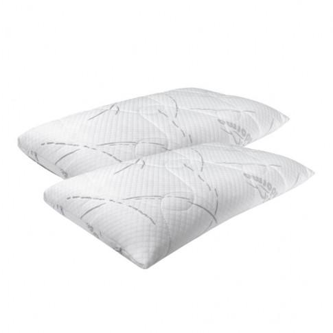 Saltea pat Adormo Ortopedic 2 in 1, cu spuma poliuretanica, fara arcuri, 160 x 200 cm + perne Adormo Alto Select
