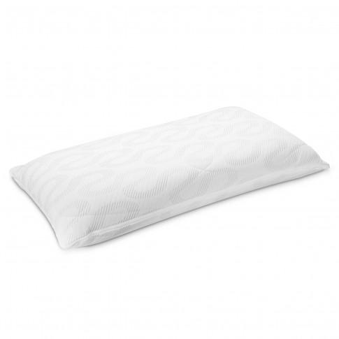 Perna pentru dormit Adormo Alto Classic Memory, spuma cu memorie, alb, 40 x 70 x 11 cm