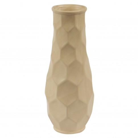 Vaza decorativa 90902 117, crem, 30 cm