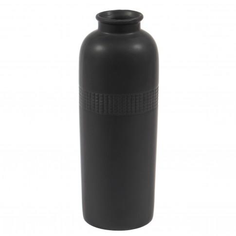 Vaza decorativa 90904 117, neagra, 23 cm
