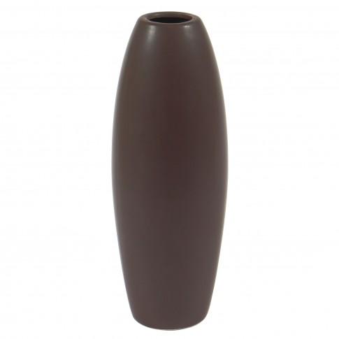 Vaza decorativa 90915 117, maro, 24 cm