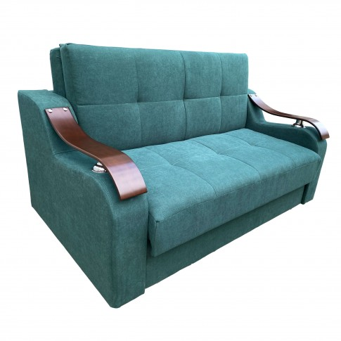 Canapea extensibila 2 locuri Melania S, cu lada, diverse culori, 163 x 102 x 99 cm, 1C