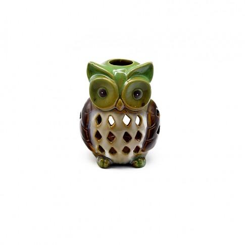 Vas decor, din ceramica, pentru aromaterapie, D279, diverse culori, 12 x 12 x 16 cm
