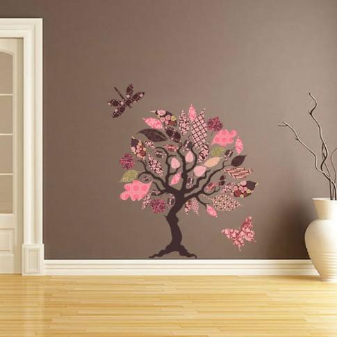 Sticker decorativ perete, living, Three of wands, PT1490, 160 x 140 cm