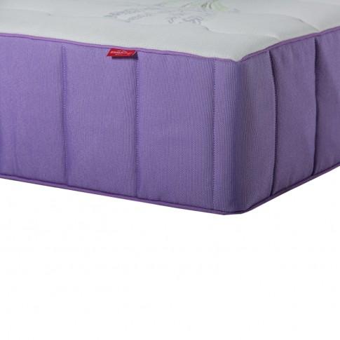 Saltea pat Aramis Feeling Balance Latex, cu spuma poliuretanica si arcuri individuale, 160 x 200 cm