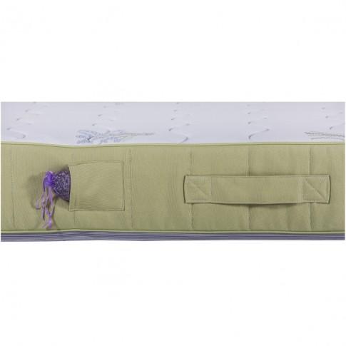 Saltea pat Aramis Feeling Calm, 90 x 200 cm, 1 persoana, cu spuma poliuretanica + memory, fara arcuri