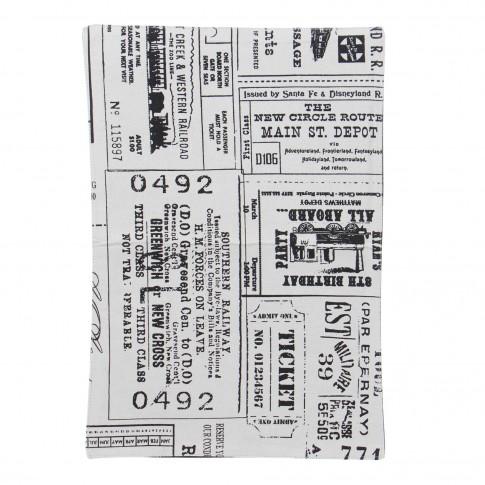 Napron Caressa SSE-OTC-9778, 100 % bumbac, cu imprimeu, 33 x 48 cm