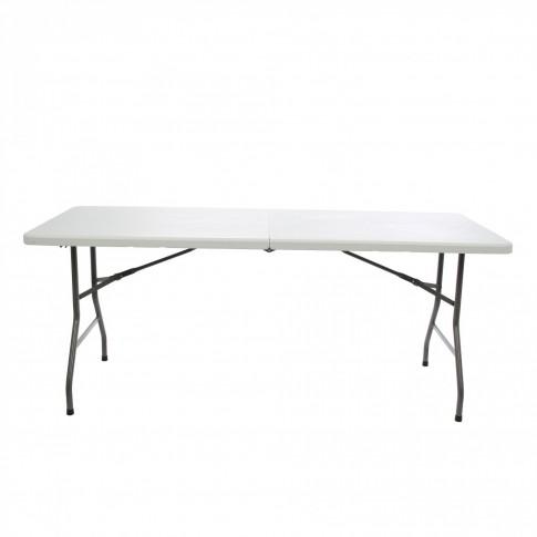 Set masa cu 6 scaune, pliant, pentru gradina, metal + plastic