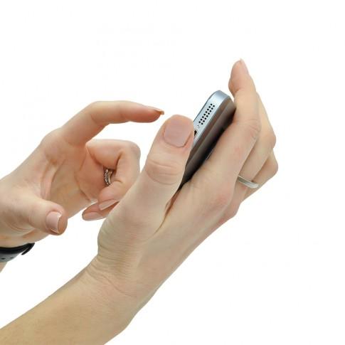 Suport auto pentru telefon PNI, universal, O-Ring-LB, gri