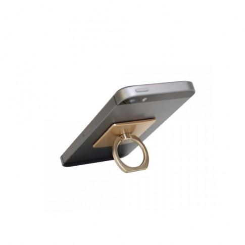 Suport auto pentru telefon PNI, universal, O-Ring-CH, auriu
