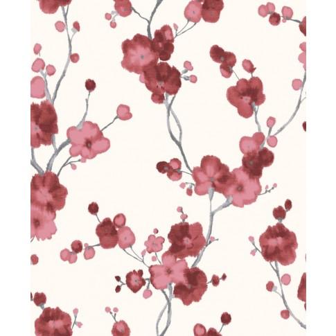 Tapet fibra textila, model floral, Grandeco New Aurora NA3105, 10 x 0.53 m