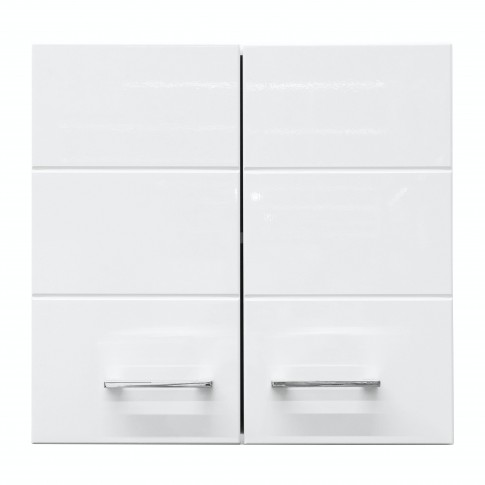 Corp hota bucatarie Diva 60A, alb mat + folie lucioasa alba, 60 x 30 x 57 cm, 1C