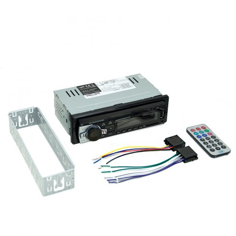 Radio MP3 player auto PNI Clementine 8428BT, 4 x 45 W, 1 DIN, Bluetooth, USB, SD, Aux in, RCA, functie ID3 Tag, telecomanda