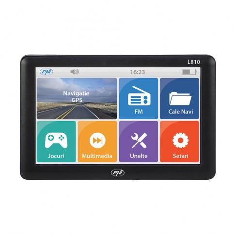 Sistem de navigatie GPS PNI L810, diagonala 7 inch, 8 GB, 800 Mhz, 256 MB