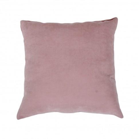 Perna decor Hazan 102, roz, poliester + fibra poliester siliconizata, 43 x 43 cm