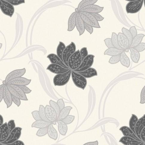 Tapet vinil, model floral, Grandeco A22704 10 x 0.53 m