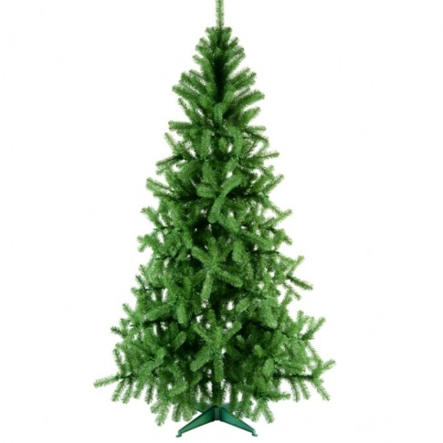 Brad artificial de Craciun, Babbo Natale, verde, 230 cm