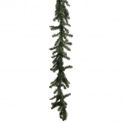 Ghirlanda Craciun, verde, 200 crengute, 2.75 m, D 20 cm