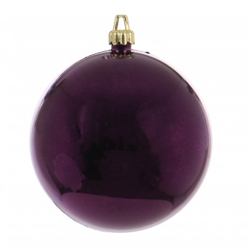 Glob Craciun, violet, D 15 cm