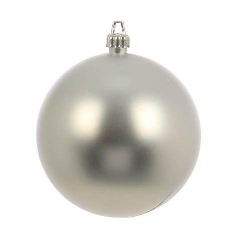 Glob Craciun, argintiu, D 15 cm