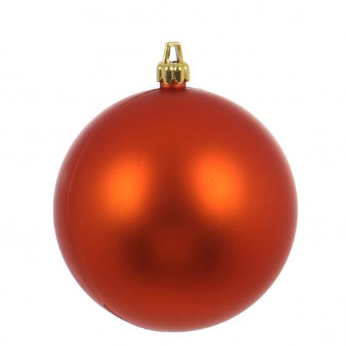 Glob Craciun, portocaliu, D 15 cm