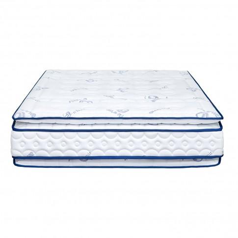 Saltea pat Bien Dormir Superb Atlantis, ortopedica, cu spuma memory, cu arcuri, 160 x 200 cm