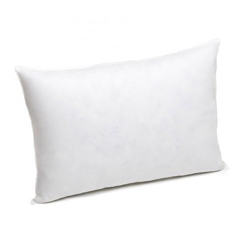 Perna pentru dormit Bedora Dual Confort puf si pene + bumbac alba 50 x 70 cm