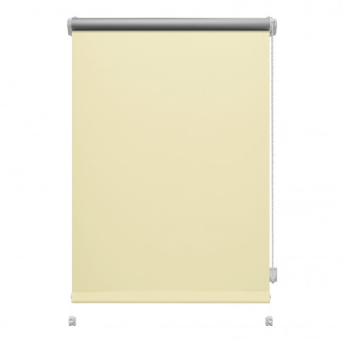 Stor Gardinia Mini Termo, 60.8 x 150 cm, crem, opac