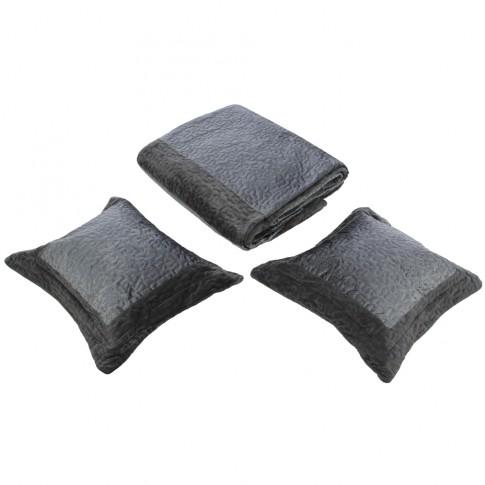 Cuvertura de pat + fete de perna, 01, poliester, diverse culori,  230 x 250 cm
