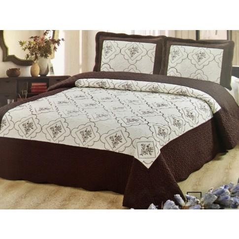 Cuvertura de pat + fete de perna, 02, microfibra, diverse culori, 230 x 250 cm
